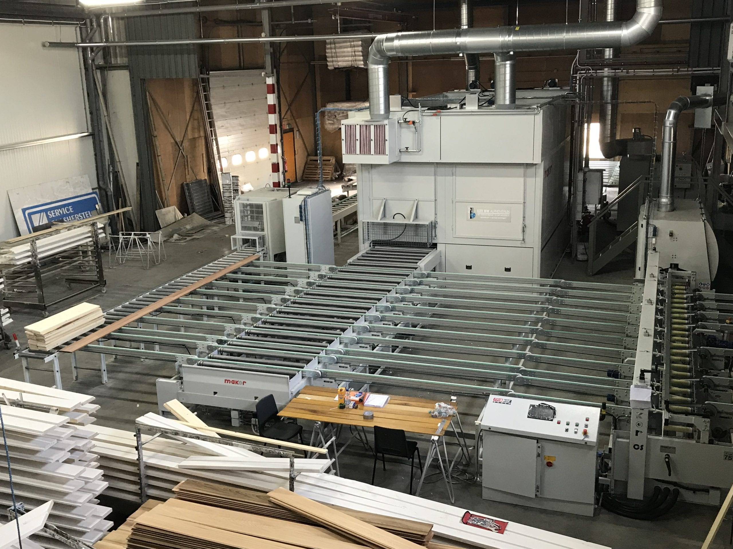 Automatisering Job Coater - Loon Coater